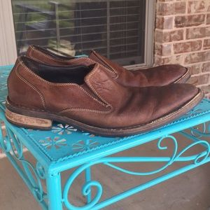 Cole Haan Nike Air Leather Slip on Dress Shoes 14M